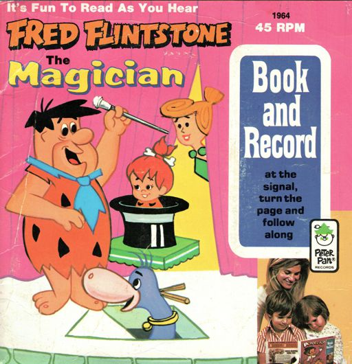 Fred Flintstone the Magician